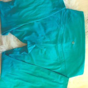 Peacock lululemon align pants